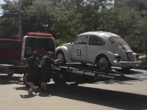 Herbie heads to the doctor