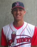 Derrik Gibson, July 2009 Base Stealer of the Month